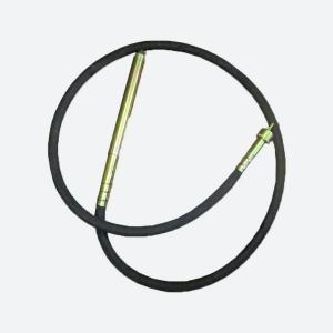Вал гибкий (3 м) с булавой для вибратора (диаметр 48 мм)