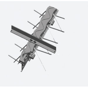 Деформационный профиль ремонтный Синус ПДШ Rsin-135