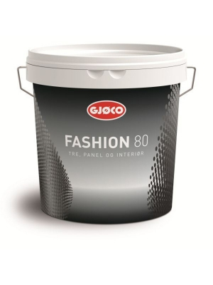 Краска масляная по дереву Gjoco Fashion 80 (Hvit), 2,7 л