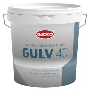 Эмаль алкидная Gjoco Gulv 40 (А) для полов, 2,7 л