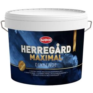 Краска для наружных работ для дерева Gjoco Herregard Maximal (А), 2,7 л