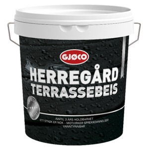 Пропитка для дерева и террасс Gjoco Herregard Terrassebeis (С) для дерева, 2,7 л