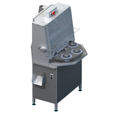 Производственная машина для удаления сердцевины яблока, груши и их нарезки дольками КВ-850