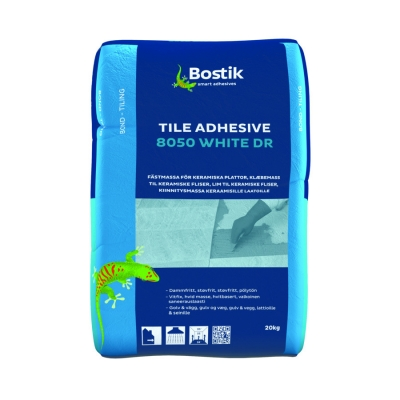 Клей для теплых полов Bostik 8050 White DR
