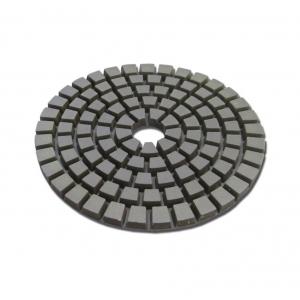Круги шлифовальные черепашка диаметр 100 мм h 4 мм №1500 гибкие