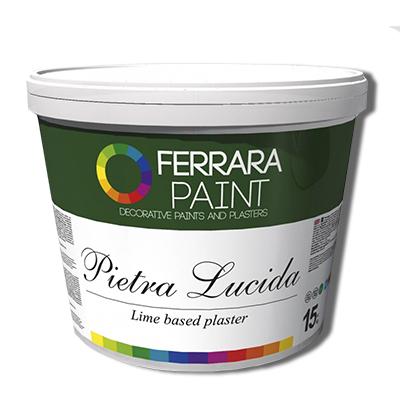 Dekorativnaja shtukaturka dlya vnutrennej otdelki sten Pietra Lucida, kupit v Spektrum