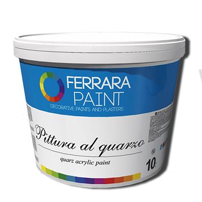 Gruntovochnaja kraska Pittura al quarzo 10 l dlya Vetro, kupit v Spektrum