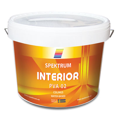 Kraska belaja matovaja Spektrum Interior 02 kupit v magazine Spektrum