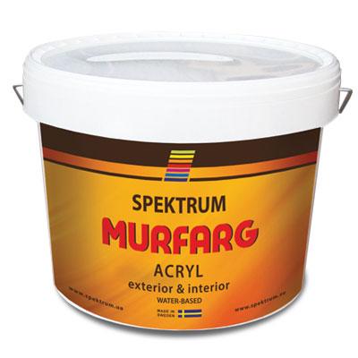 Kraska fasadnaja akrilovaja Spektrum Murfarg kupit v magazine Spektrum