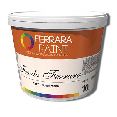 Kraska-grunt akrilovaja matovaja Fondo Ferrara, kupit v Spektrum