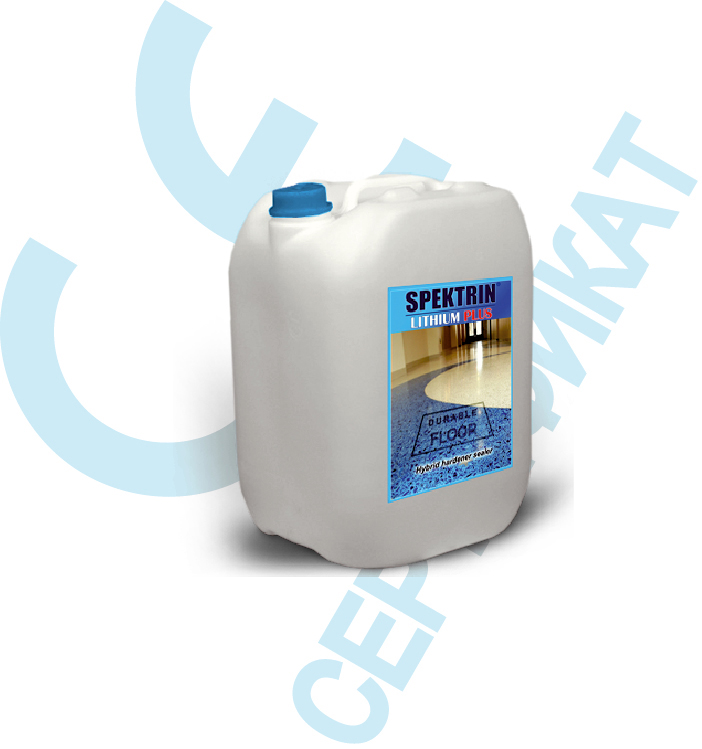 Упрочнитель SPEKTRIN LITHIUM PLUS для бетона, для камня, для мраморной крошки