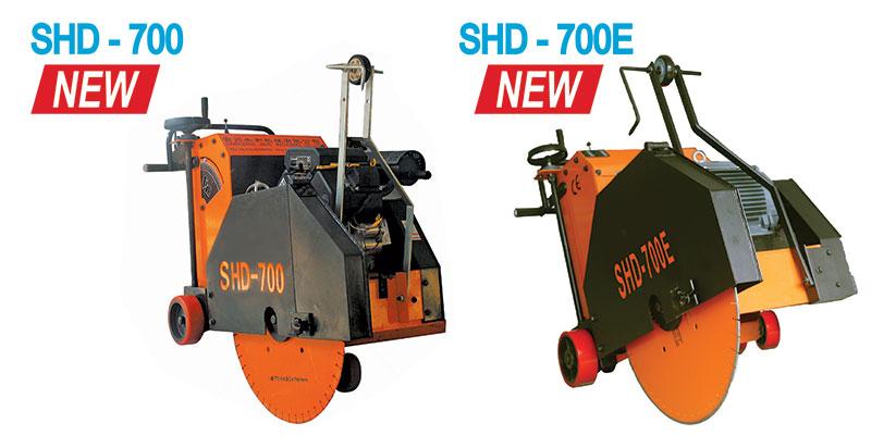 Shvonarezchiki po betonu benzinovyj SHD-700 I elektricheskij SHD-700E, kupit v Spektrum