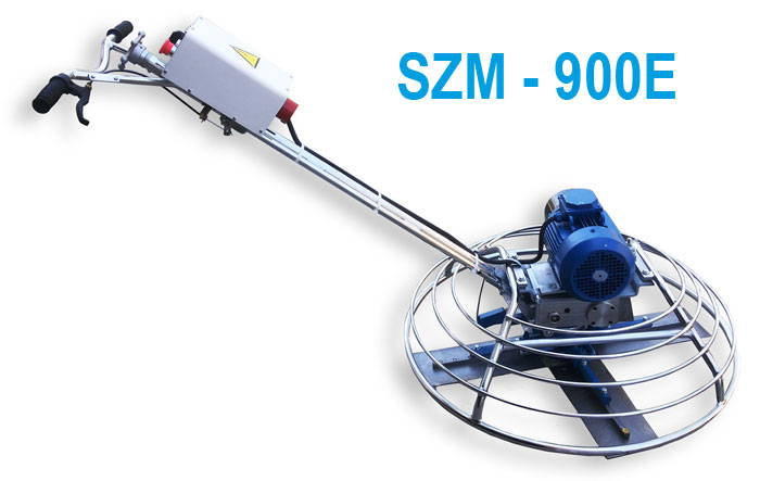 Zatirochnaja mashina po betonu elektricheskaja Spektrum SZM-900E foto