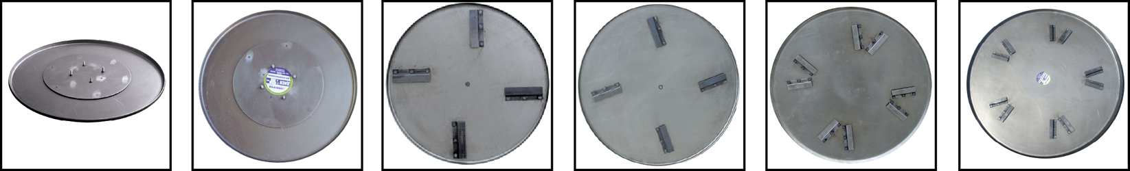 Фото, картинки Диски для затирочных машин СПЕКТРУМ. Затирочные диски по бетону