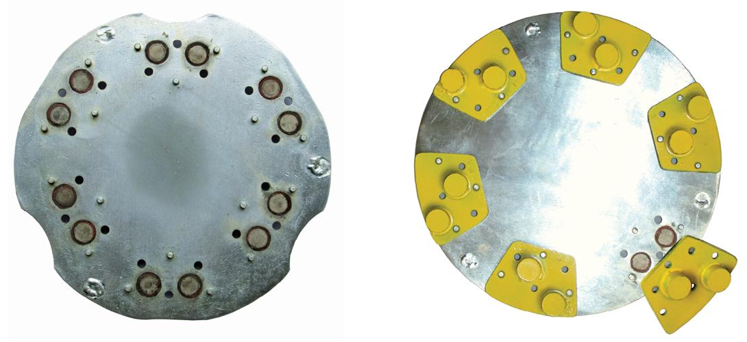 Фото, картинка магнитная система крепления инструмента для шлифовально-полировальной машины Спектрум