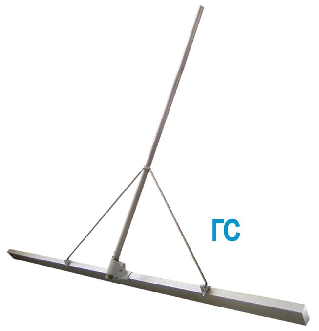 Фото, картинка Гладилка скребковая для бетона ГС от Спектрум, гладилка строительная