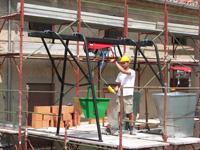 Фото, картинки подъемник грузовой строительный СПЕКТРУМ ПГС-1,0, подъемник консольный, кран балочно-консольный