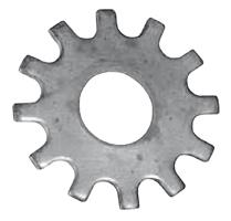 фото картинка звезда ламель из закалённой стали для фрезерных, фрезеровальных, роторно-фрезеровальных машин от Спектрум